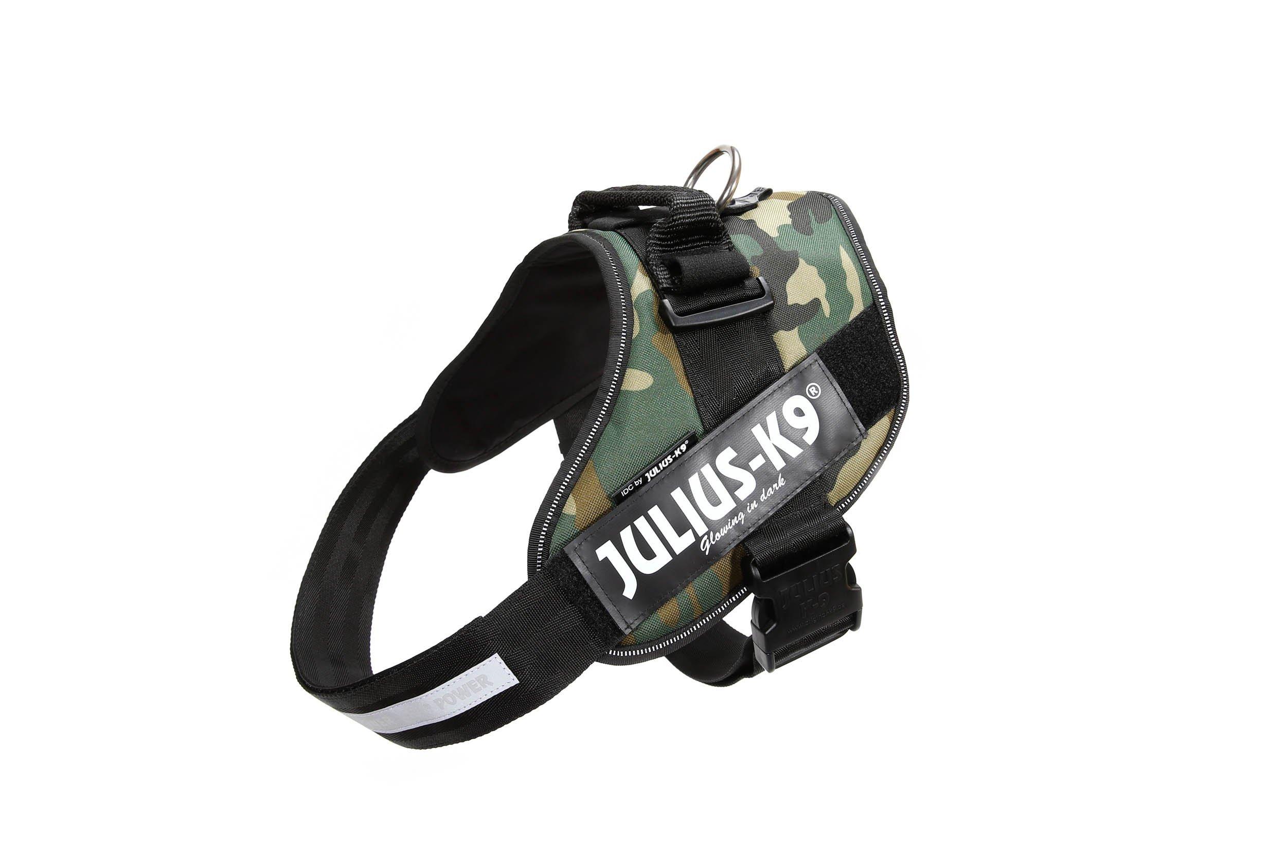 Julius-K9 16IDC-C-2 IDC Power Harness, Size: 2 (71-96cm/28-37.5''), Camouflage