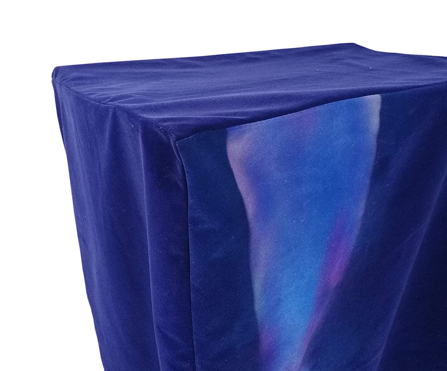 FixtureDisplays Podium Protective Cover Pulpit Cover Lectern Padded Cover 24.2W x 49H x 17.7D 1803-8-BLUE