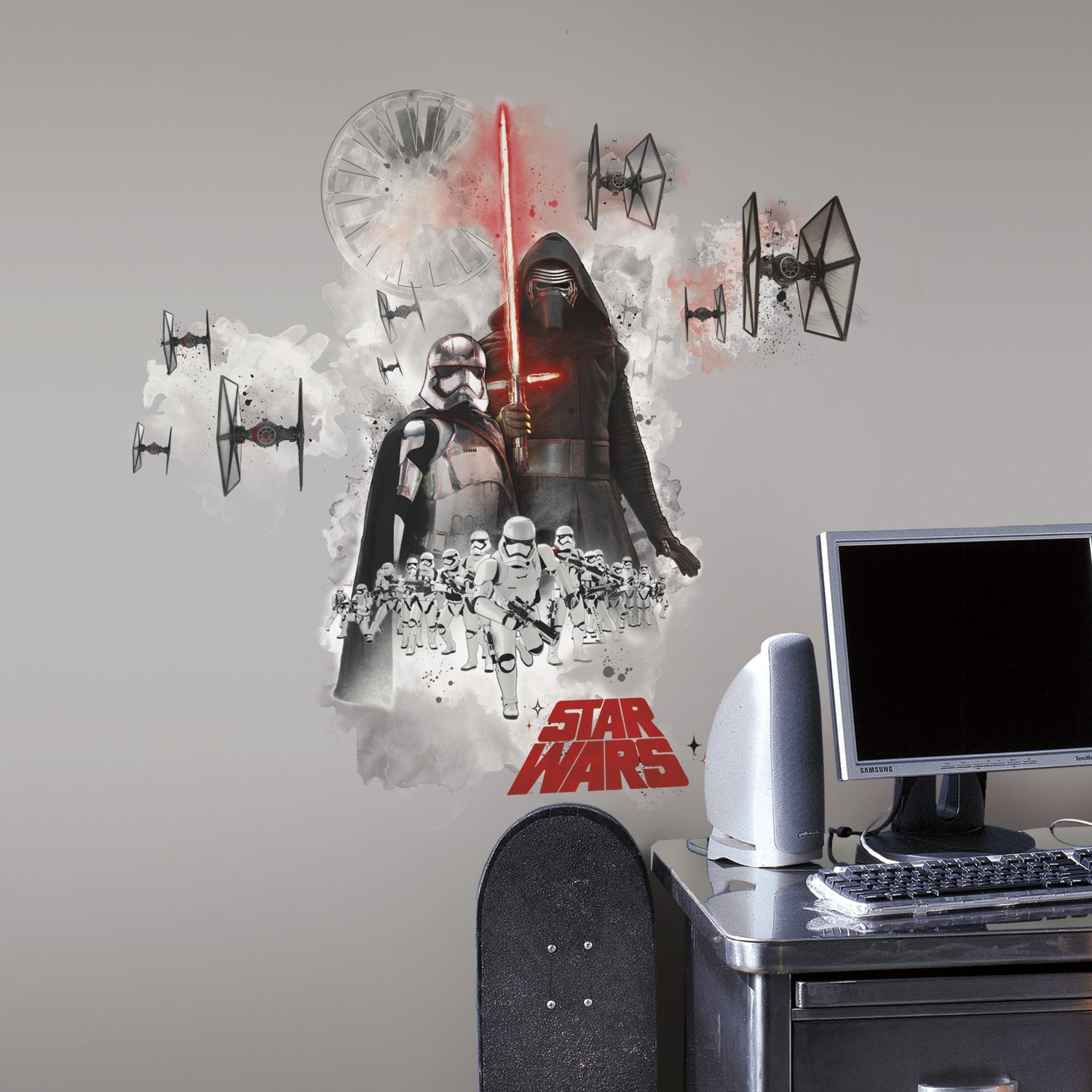 Star Wars EP VII Giant Wall Decal