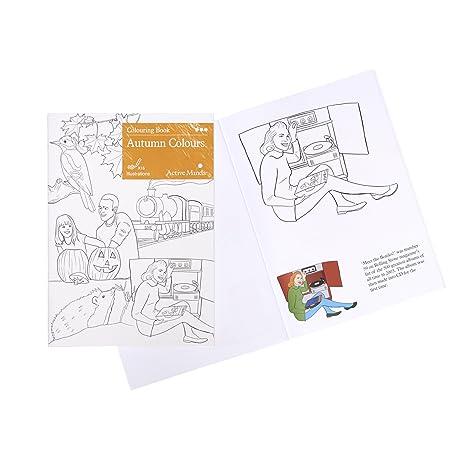 Libro de Colorear Colores de otoño: Actividades y Productos ...