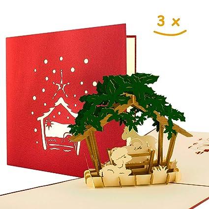 Juego de 3 Tarjetas de Navidad con sobres I de tarjetas de ...