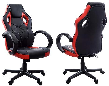 Giosedio rosso nero fbh gaming pc poltrona poltrona da ufficio