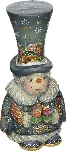 G. Debrekht Frosty Carollers Snowman