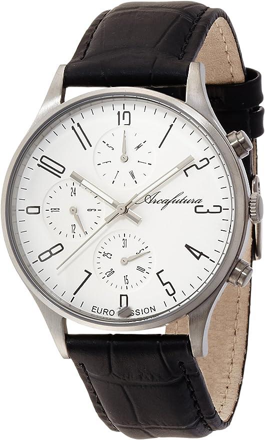 [アルカフトゥーラ] 腕時計 EC483WH ブラック