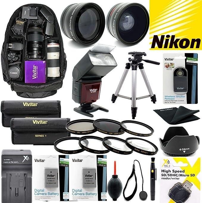 Nikon Coolpix P1000 Premium Zubehör Set Für Objektiv Kamera