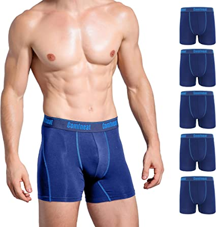 3er Pack Herren Bambus Viskose Boxershorts Shorts Boxer Unterwäsche