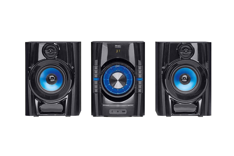 Mac Audio MPS | Dab + Minicadena | High de Power Sistema Hi-Fi con Dab +, Bluetooth, USB, CD, Entrada Auxiliar, RDS – Negro MPS 501 Negro
