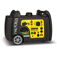Champion 100263 3400-Watt Portable Dual Fuel Inverter Generator with Electric Start