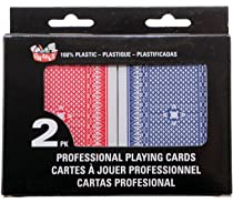 Royal Tarjetas de p/óquer de pl/ástico tarjetas de pl/ástico parte tarjetas de pl/ástico 100/% 1x Deck