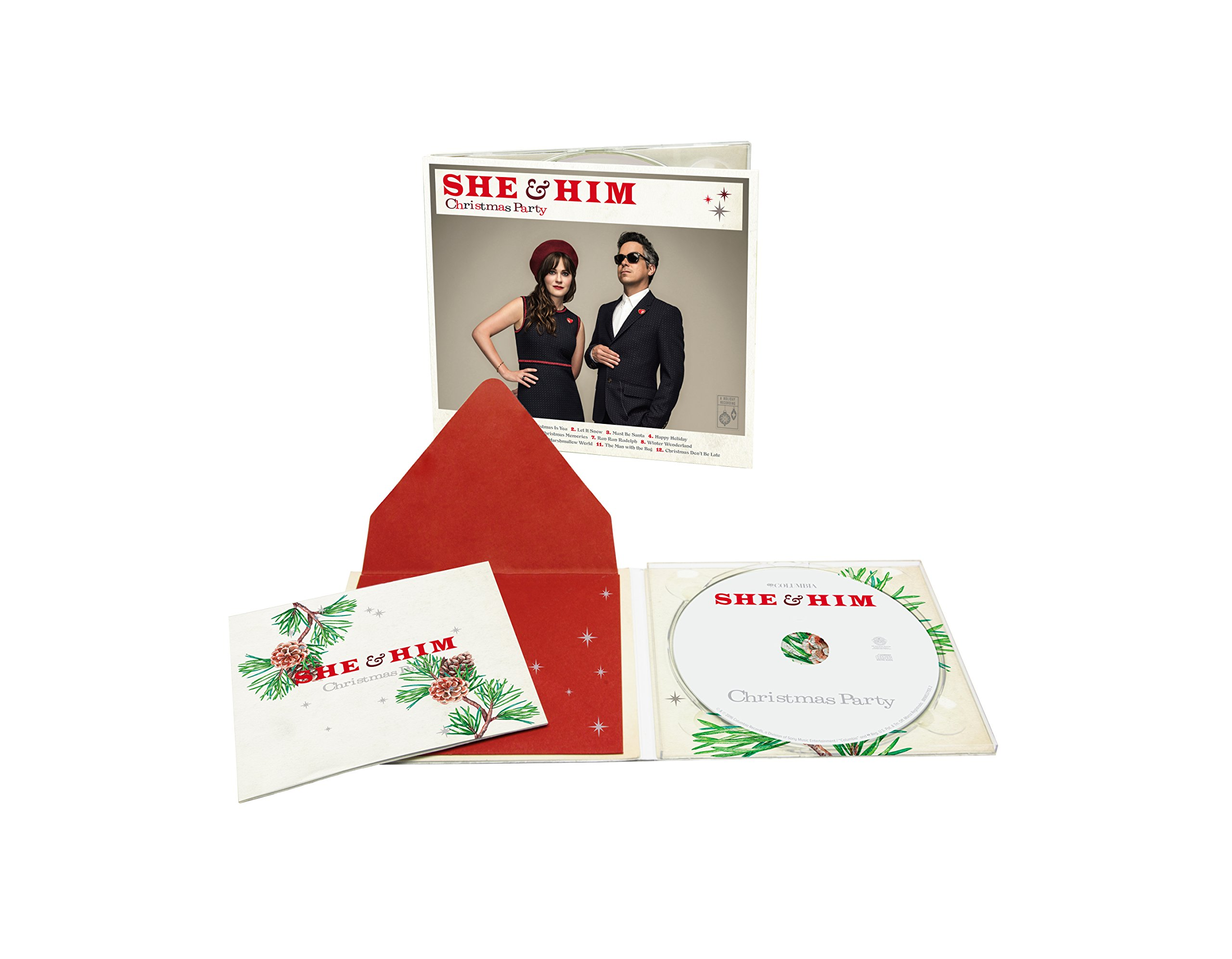 She And Him Christmas.Imwan 2016 10 28 She And Him Christmas Party Including