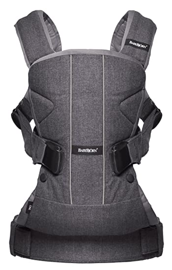 9daa8c01a01 Amazon.com   BABYBJORN Baby Carrier One - Denim Gray