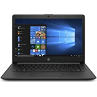 HP 14 Core i3 7th gen 14-inch Thin and Light FHD Laptop (4GB/256GB SSD/Windows 10/MS Office/Jet Black/1.59 kg), 14q-cs0019TU