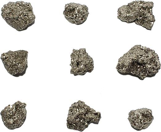 Rough Natural Pyrite Raw Gemstone Crystal Specimen 10-14 oz 1 EXTRA LARGE