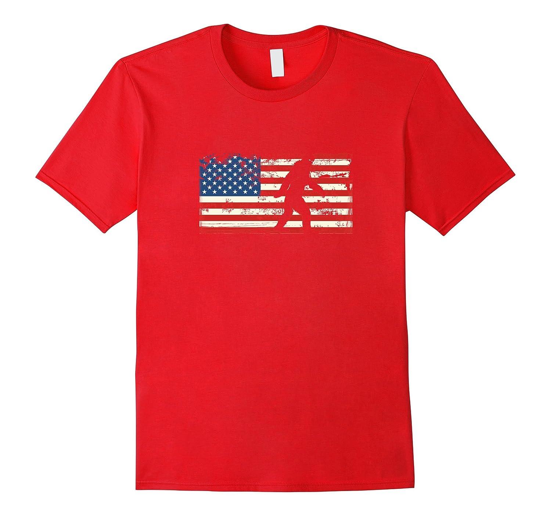 The Bigfoot 4th of July Funny Patriotic USA Tee shirt