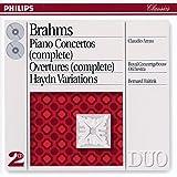 Brahms: Piano Concertos Nos.1 & 2/Haydn Variations etc. (2 CDs)