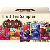 Celestial Seasonings Tea, Fruit, 18 Count (Pack of 3)