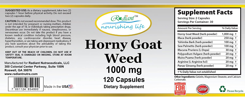 Yohimbe und Horny Goat Weed
