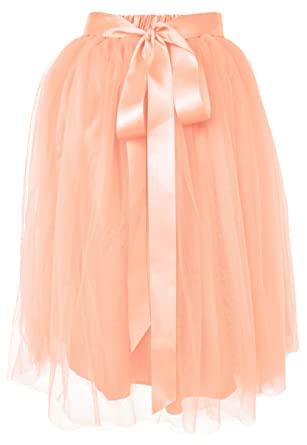 d57ace762a Dancina Girls Knee Length Tutu A line Layered Tulle Skirt 2-7 Years Ballet  Pink