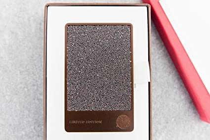 439e23dc2a9f Image Unavailable. Image not available for. Color  NIB Starbucks 2016  Swarovski Espresso Limited Edition Stanless Steel Holiday Gift Card