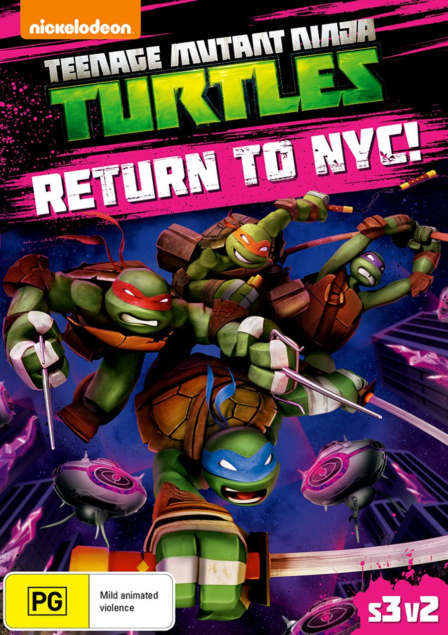 Amazon.com: Teenage Mutant Ninja Turtles Return To NYC ...