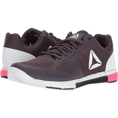 Reebok Womens Speed TR 2.0 Smoky Volcano/White/Acid Pink 9 B - Medium | Tennis & Racquet Sports
