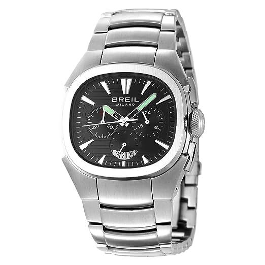 Breil BW0301 - Reloj de caballero de cuarzo, correa de acero inoxidable color plata: Amazon.es: Relojes