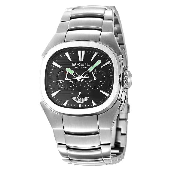 Breil BW0301 - Reloj de caballero de cuarzo, correa de acero inoxidable color plata: BREIL: Amazon.es: Relojes
