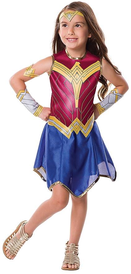 Amazon Com Rubie S Justice League Child S Wonder Woman Costume
