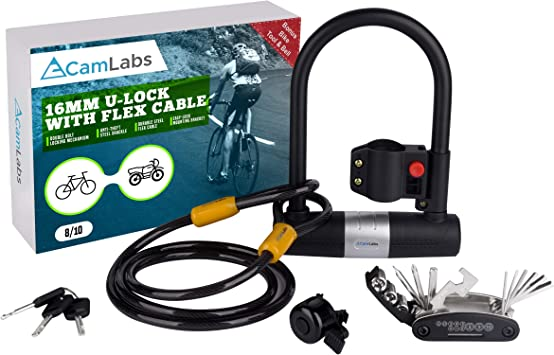 Tool Folding Lock Loop Bicycle Electric scooter Motorcycle Accessories
