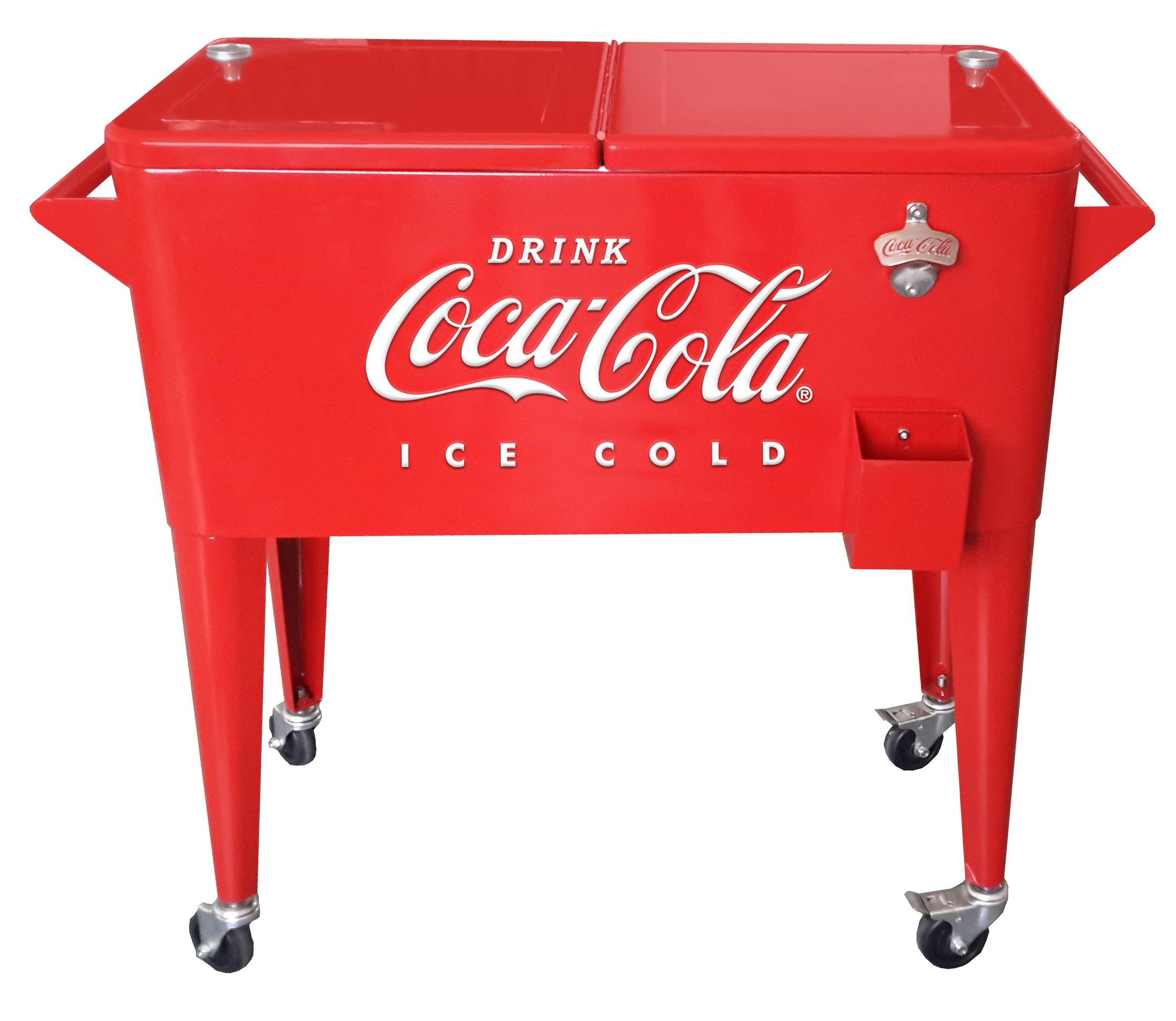 Leigh Country 80 Qt Coca-Cola ''Ice Cold'' (Embossed) Cooler