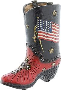The Bridge Collection 'America' Replica Resin Cowboy Boot Figurine