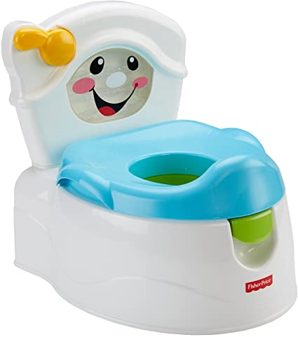 6a6c3f55ac7 Amazon.com   Fisher-Price Learn-to-Flush Potty   Toilet Training Potties    Baby
