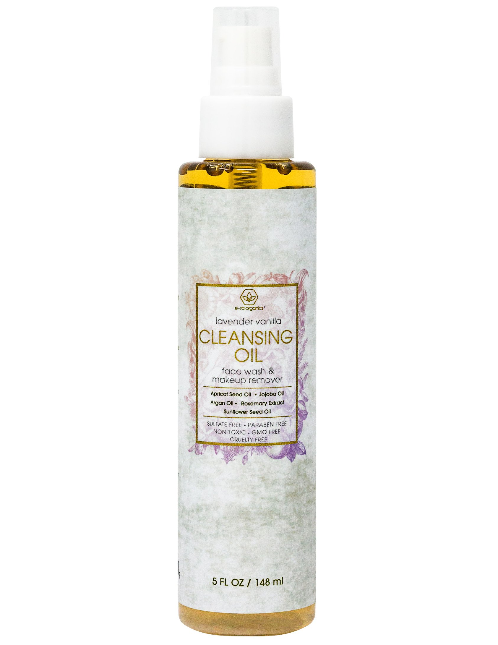Facial Cleansing Oil & Makeup Remover- Premium Natural & Organic Moisturizing Face Wash For Dry