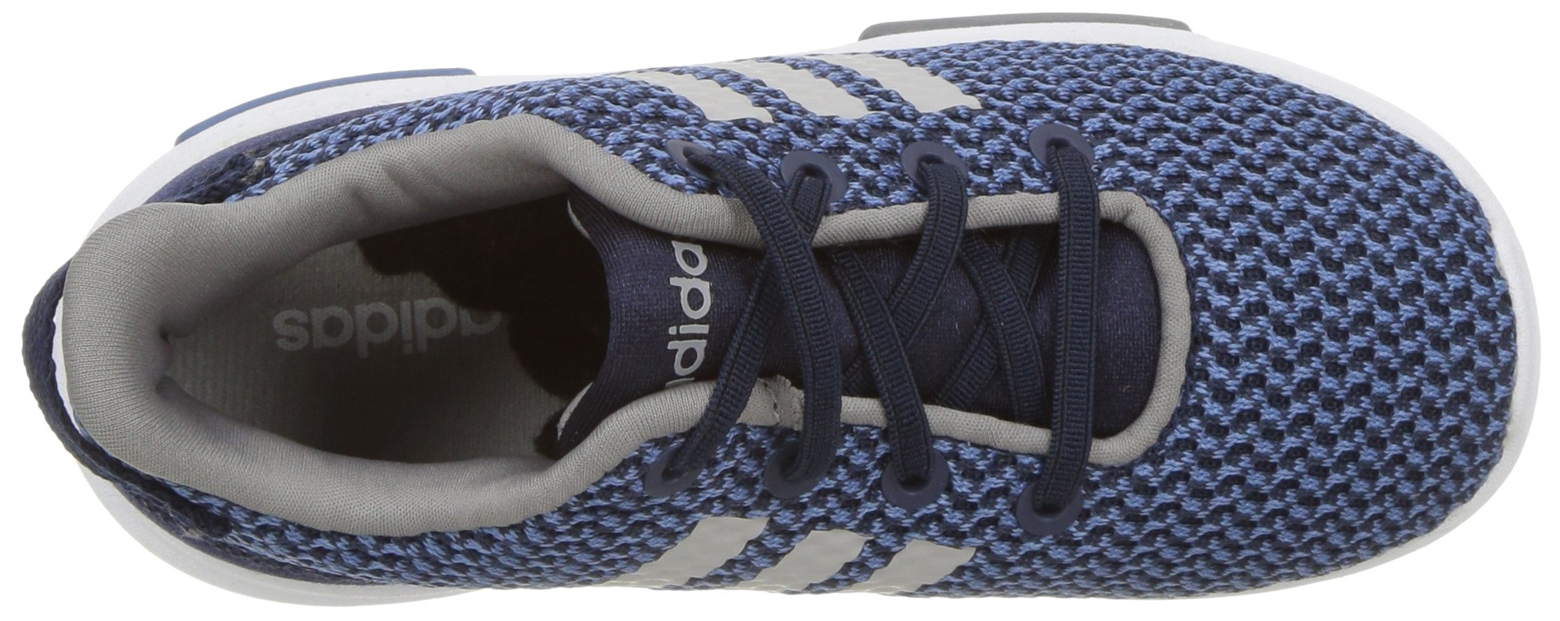 adidas Kids CF Racer TR Running Shoe, Collegiate Navy/Collegiate Navy/Grey, 3K M US Toddler by adidas (Image #8)