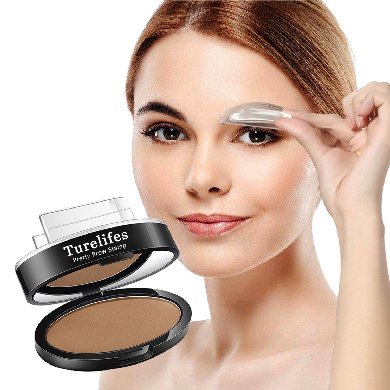 Amazon Turelifes Waterproof Eye Brow Stamp Powder Perfect