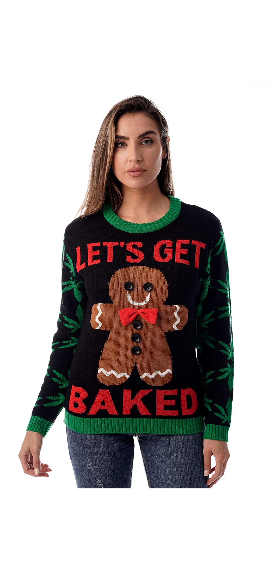Womens Ugly Christmas Sweater - Sweaters For Women