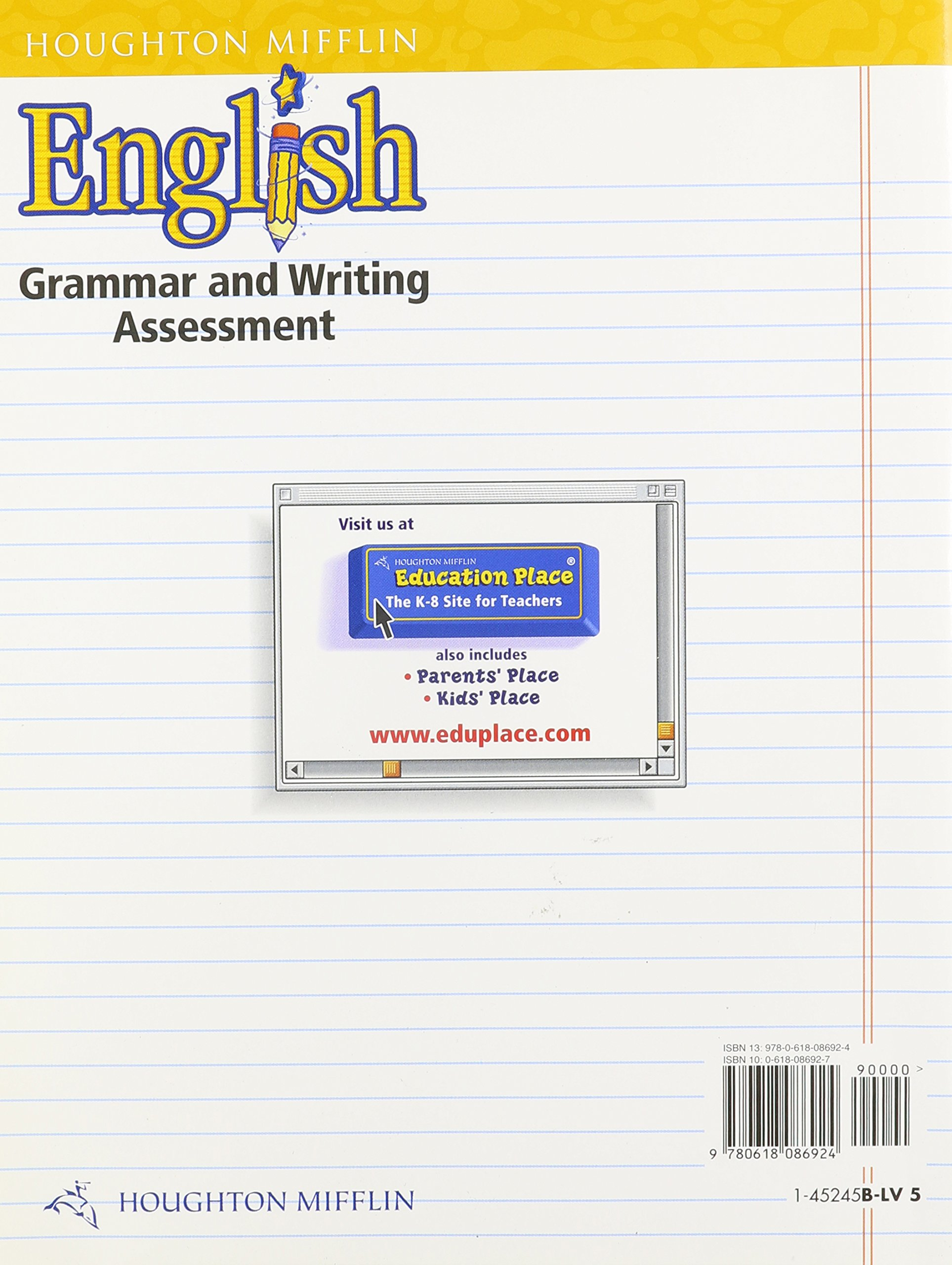 Amazon eng assessment blms level 5 01 9780618086924 books fandeluxe Image collections