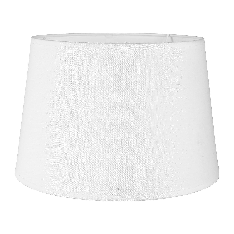 Sema 97205 Abat-jour rond Texture/Tissu Blanc Sema Design