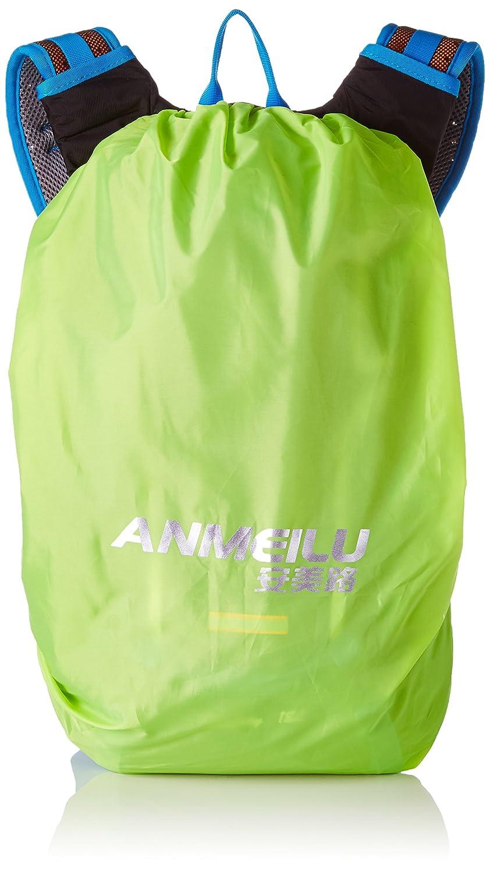 Aussenreit Rucksack ANMEILU 18L Maenner und Frauen im Freien Rucksack Fahrrad fahren Rucksack mit regen Abdeckung Blau