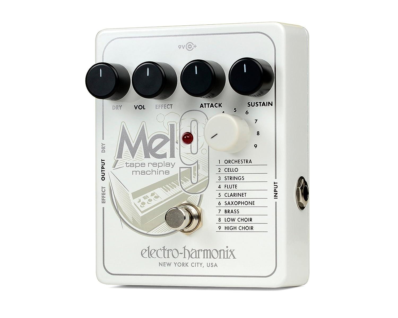 Electro Harmonix 665241 efecto de guitarra eléctrica con sintetizador Filtro MEL9, Tape Replay Mach.: Amazon.es: Instrumentos musicales
