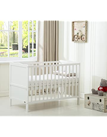 NEW WHITE 2in1 COT-BED 120x60 no 8 n RRP 129,00 GBP