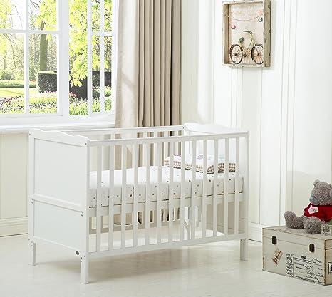 Mcc® Orlando - Cuna con lados, cama cuna para niños con colchón repelente al