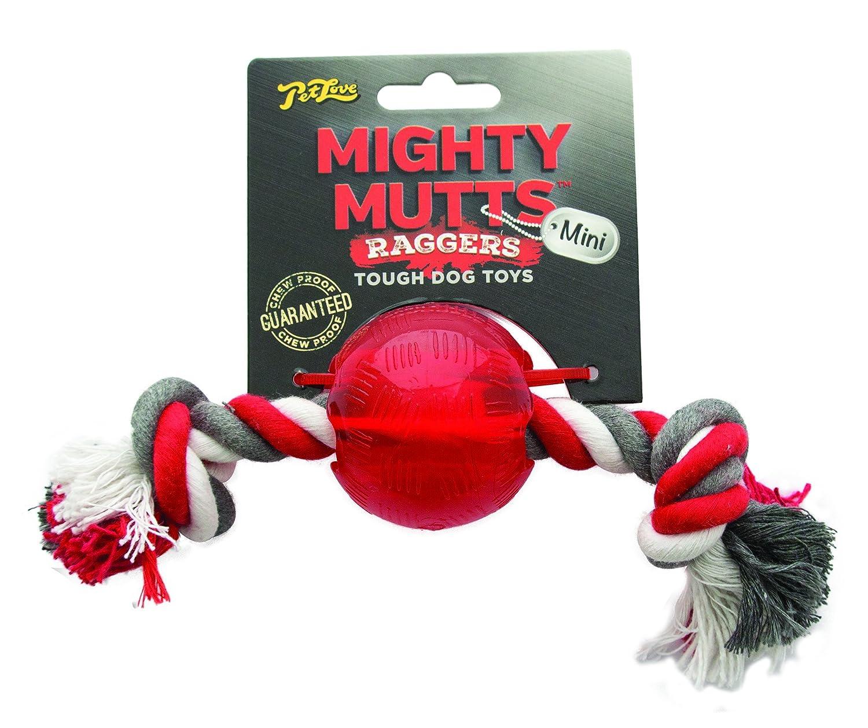 Interpet 4782 Mighty Mutts Mini Raggers - Kugel