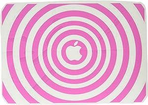 The Decal Guru 2048-MAC-12M-BG Music Waves MacBook Decal Vinyl Sticker - 12