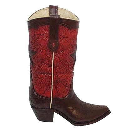 b44c7670c78 Amazon.com: MISC Realistic Cowboy Boot Flower Vase Decoration Star ...
