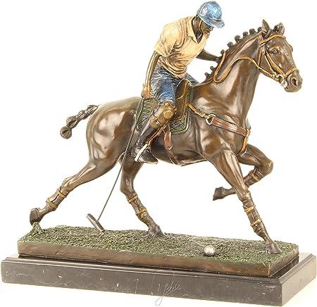 Decoratie Figura de Bronce Escultura diseño: Jugador de Polo a ...