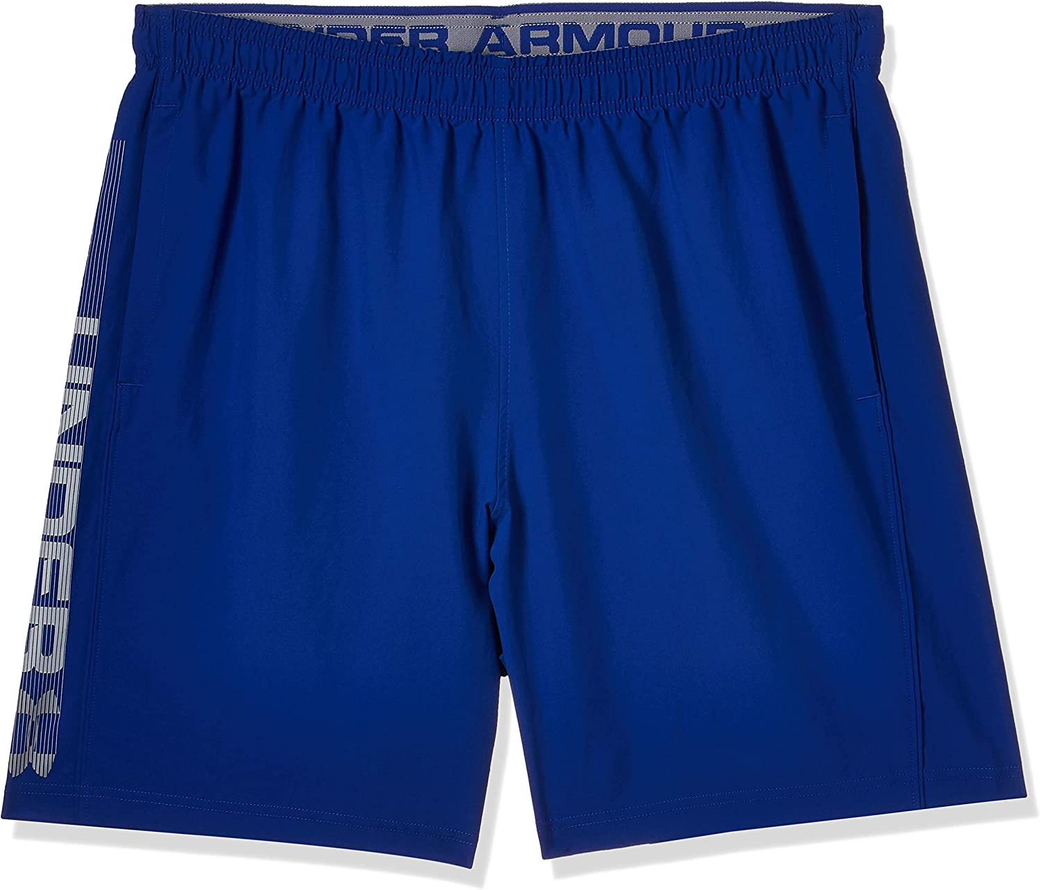 Under Armour Hombre Woven Graphic Wordmark Shorts, pantalón Corto