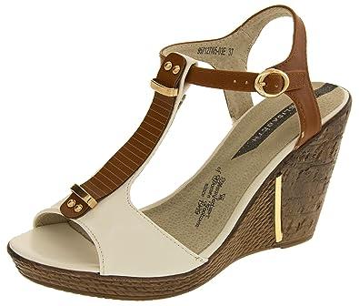 Footwear Studio Eisabeth Damen Beige Keilabsatz Sandalen EU 37 HPk4Mr