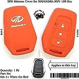 SFK Silicone Remote Key Cover for Mahindra KUV 100
