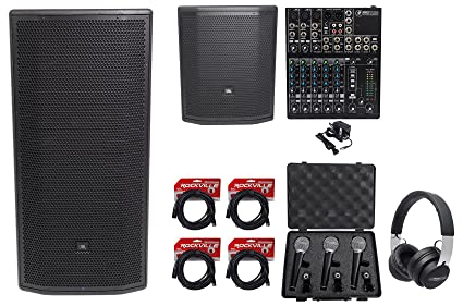 """c0dddfe0bc4 Image Unavailable. Image not available for. Color: JBL Pro PRX835XW 15 3-Way  1500w Active Speaker+15"""" Sub+Mixer"""